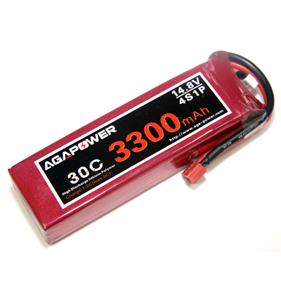 3300mAh 14.8V 30C battery for helicopters