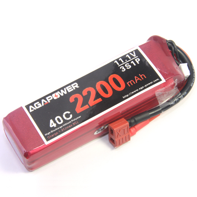 Rechargeable lipo battery 2200mAh 40C 3S