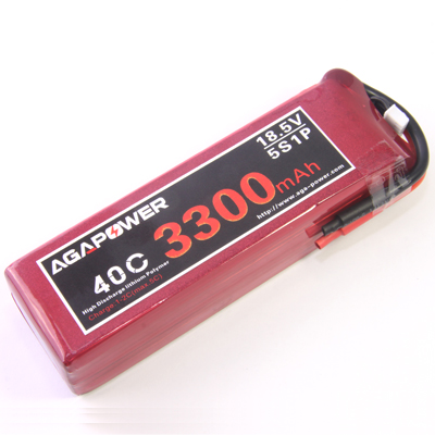 5S 3300mAh RC heli battery
