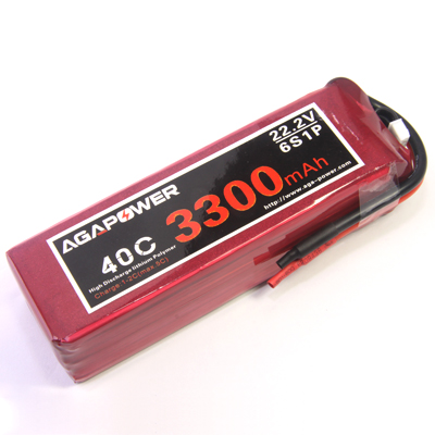 6S 40C AGA 3300mAh battery