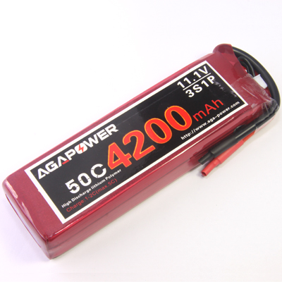 Competition 4200 11.1v 50c Lipo Packs