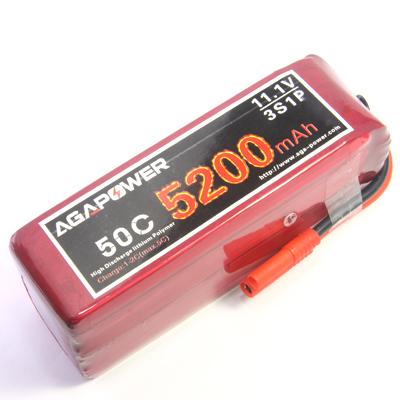 5200mah 11.1v 50c heli lipo battery