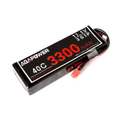 3300mah 40c 11.1v lipo battery
