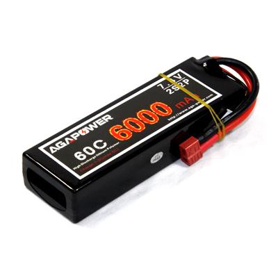 60C 7.4v 6000mAh Battery