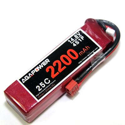 AGA Power 2200mAh 25C 4S Lipo battery