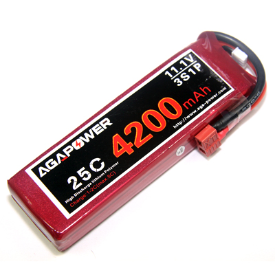 Competitive 25C 3S 4200mAh Lipo Battery