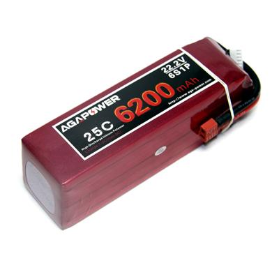 AGA Power 6200 25C 22.2 V for UAV and FPV