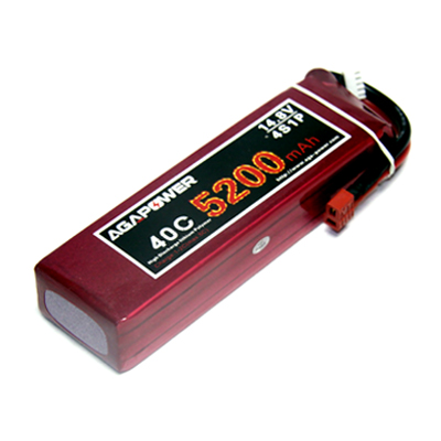 5200mAh 40C Lipo for Align helicopter